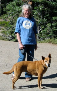 Barb and Ginger at Crater Lake