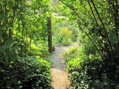 Entry into garden